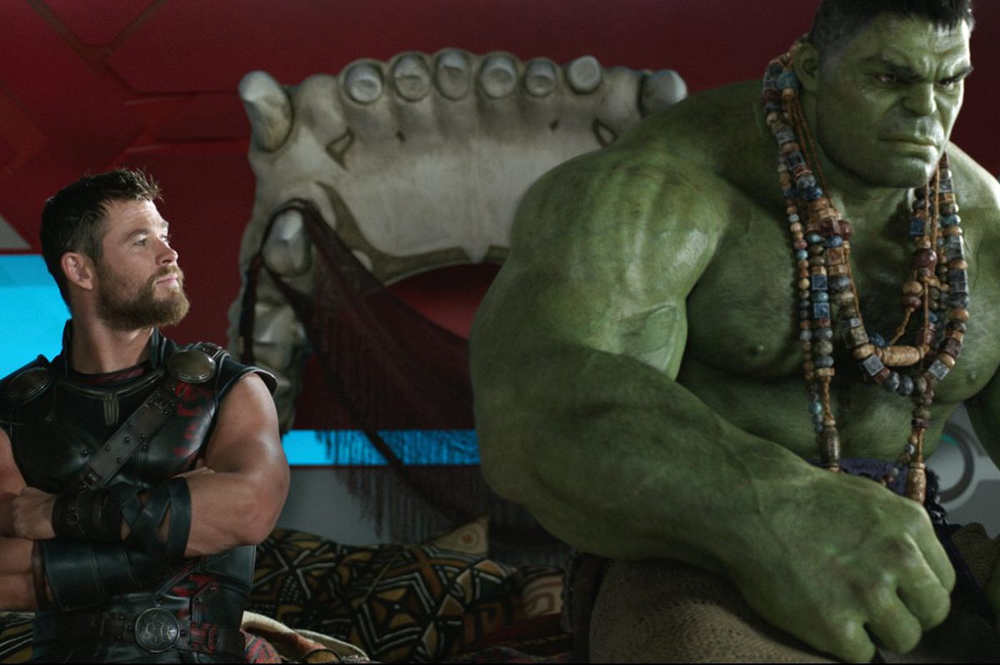 'Thor: Ragnarok' is laughable. In a good way