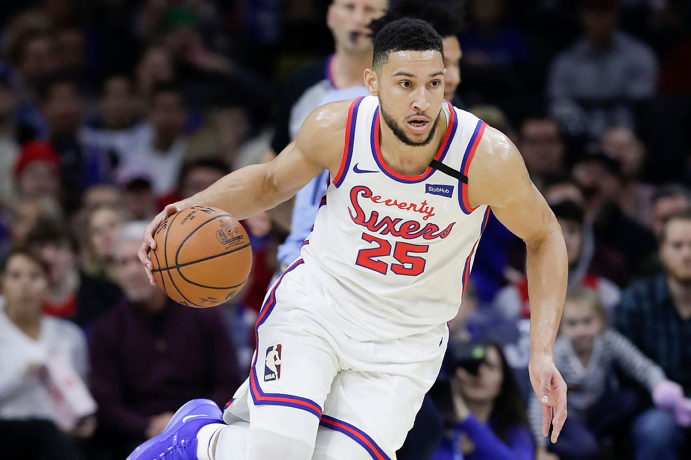 Ben Simmons puts on another show as Joel Embiid-less Sixers fall to Oklahoma City Thunder, 102-97