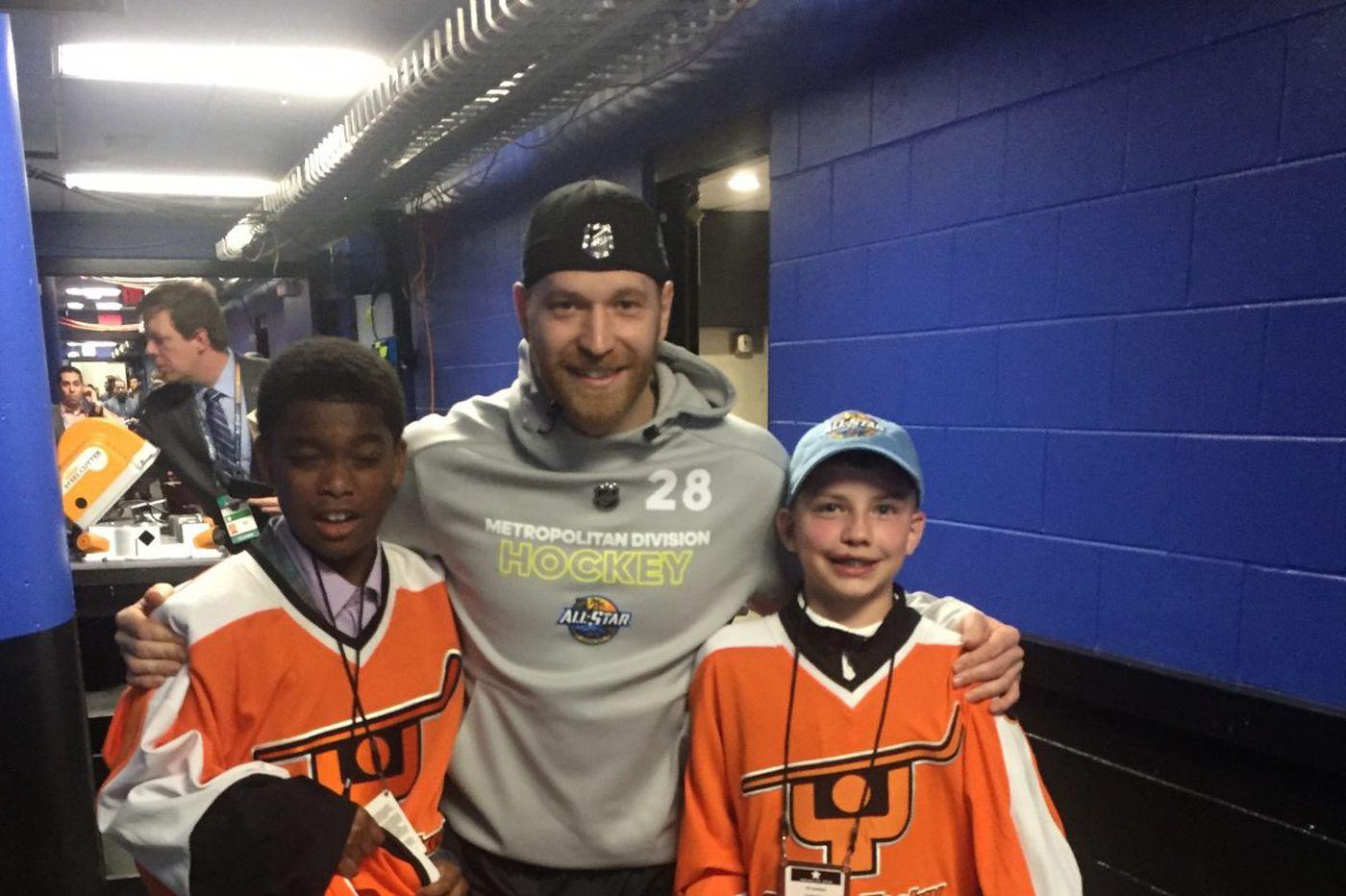 Flyers' Claude Giroux scores, but Metro falls in all-star semifinal