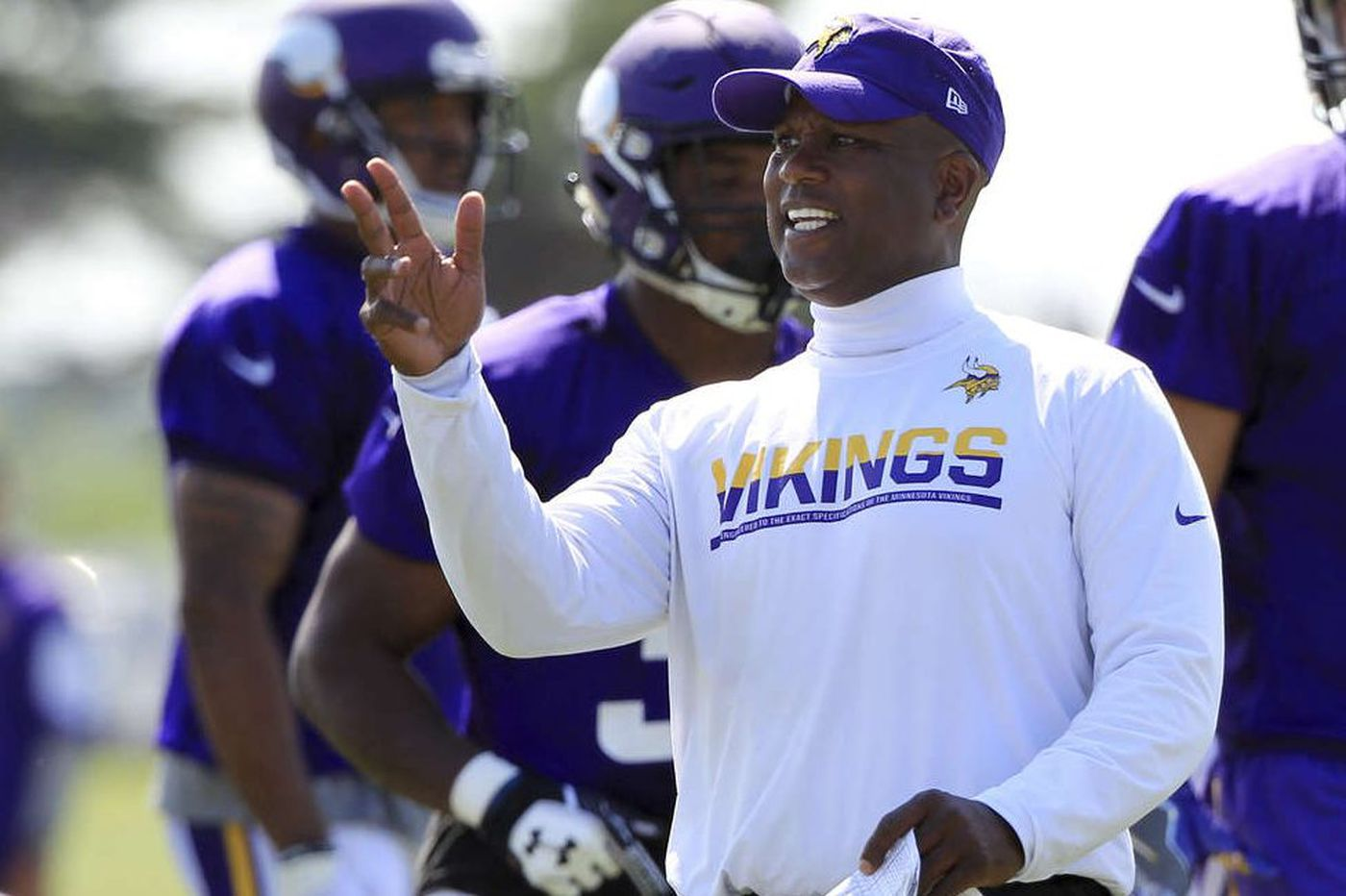 Darrell Hazell's right turn leads to a magical ride with Vikings | Bob Brookover