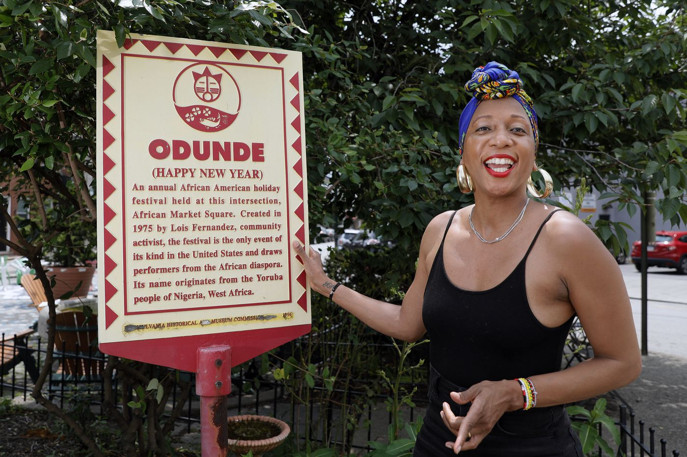 Portrait of a Pandemic: Odunde leader says this year's virtual festival feels like a 'reboot, recharge'
