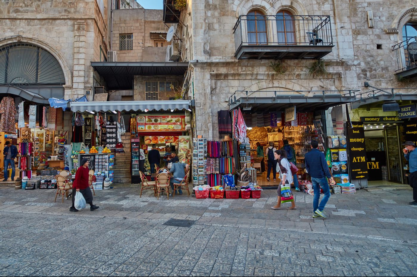 Personal Journey: In Jerusalem, watching the time and the timeless