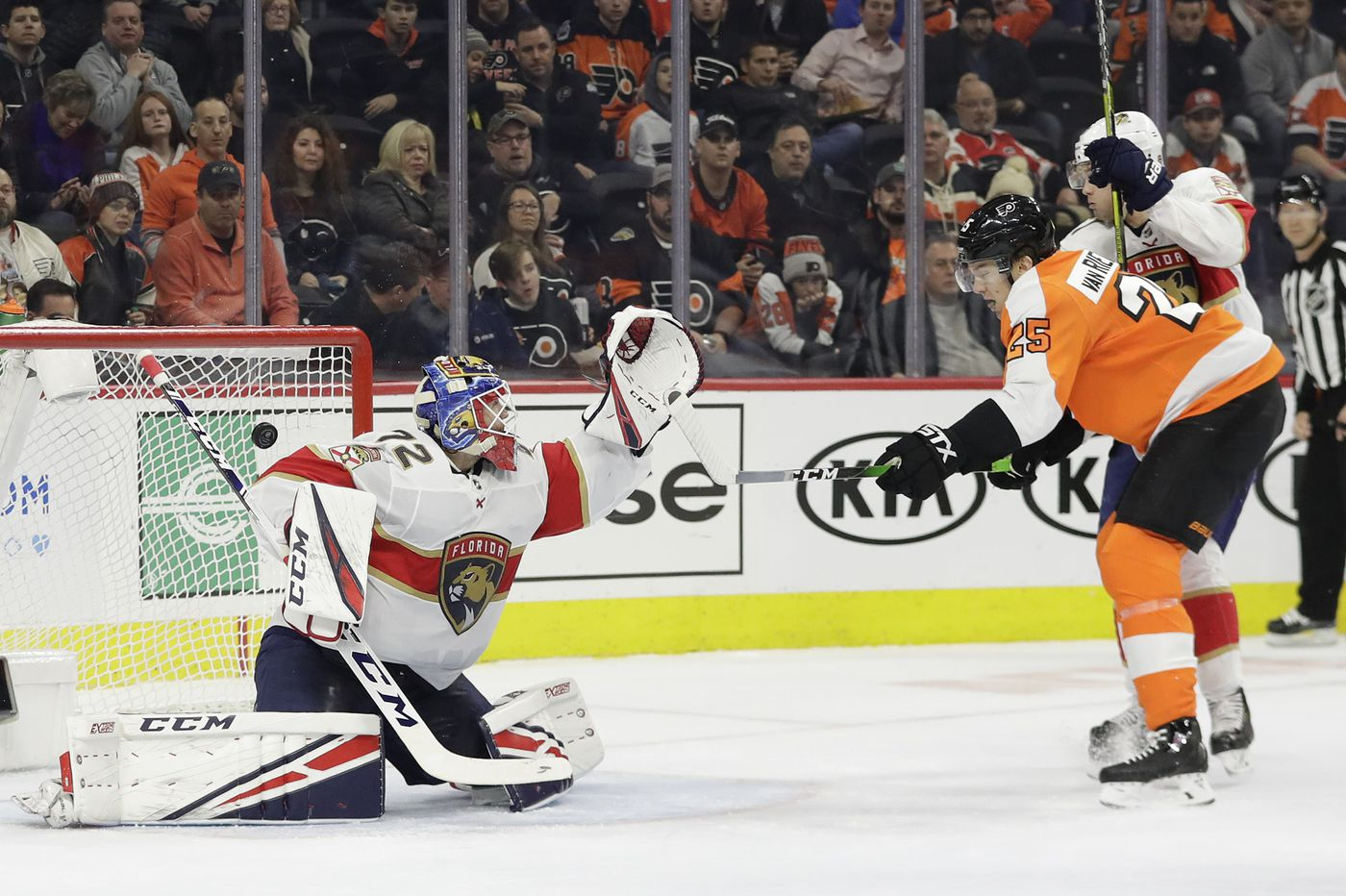 Observations from Flyers' 4-1 victory over Panthers: Important win, memories of rats | Mike Sielski
