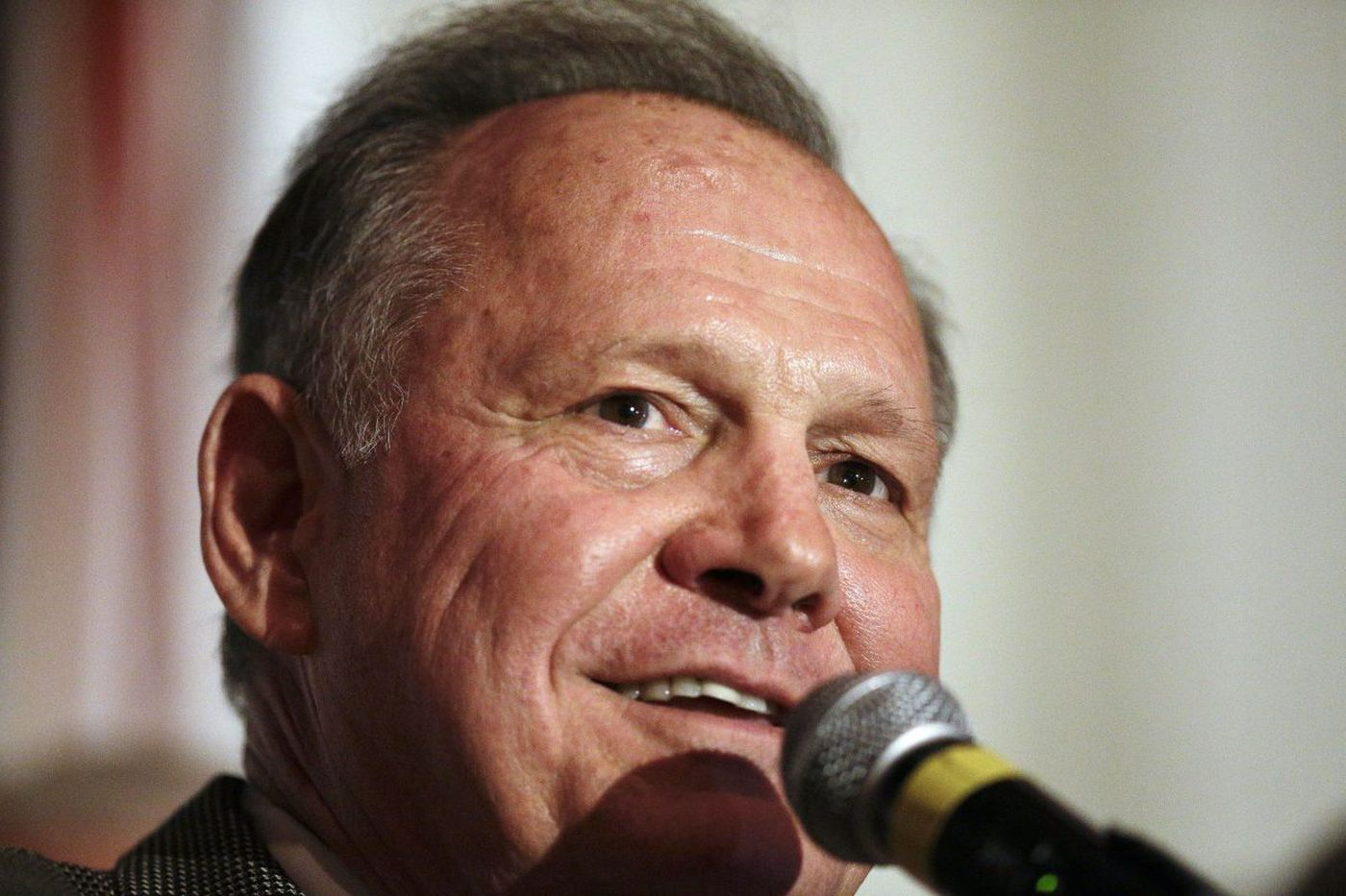 Senate candidate Roy Moore says kneeling during anthem is against the law