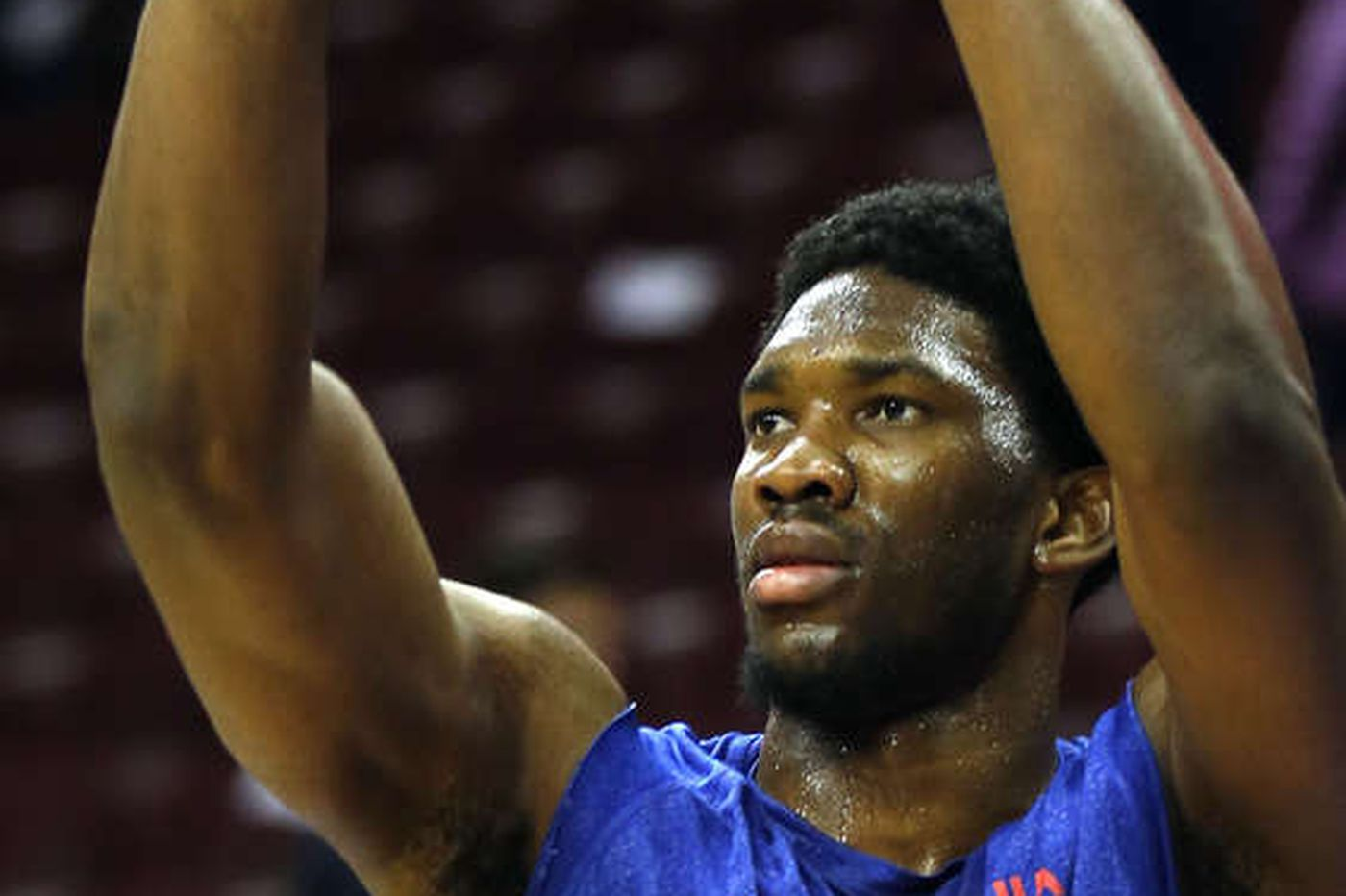 Embiid has just 'soreness,' Brown says