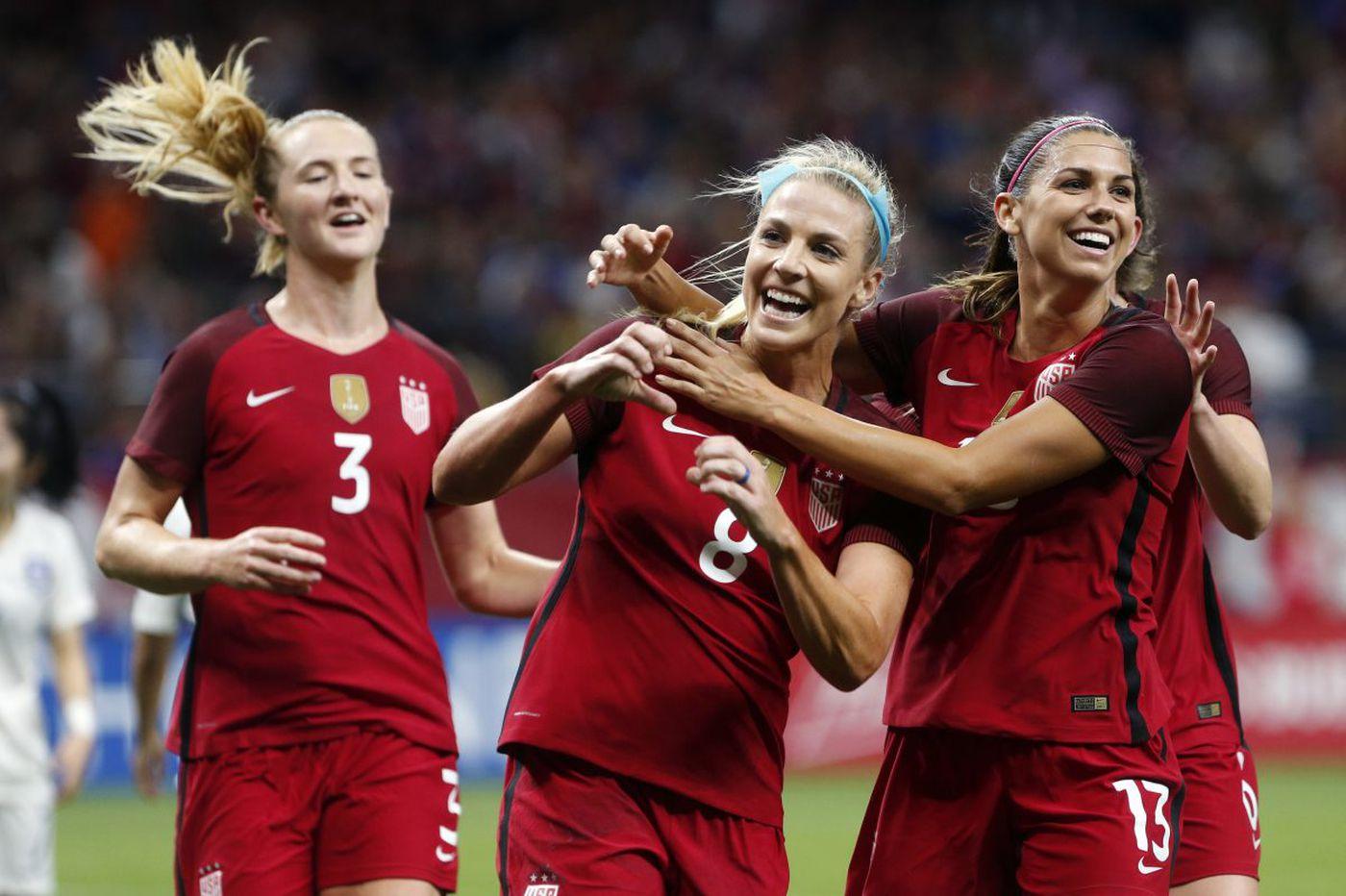 Julie Ertz named U.S. women's national team player of the year