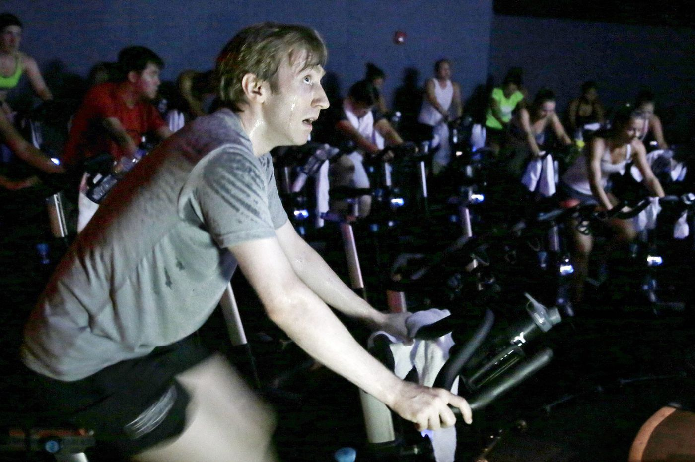Could you take seven spin classes in one day? Meet the Philly man who logged more than 4,300 miles at Flywheel in less than a month