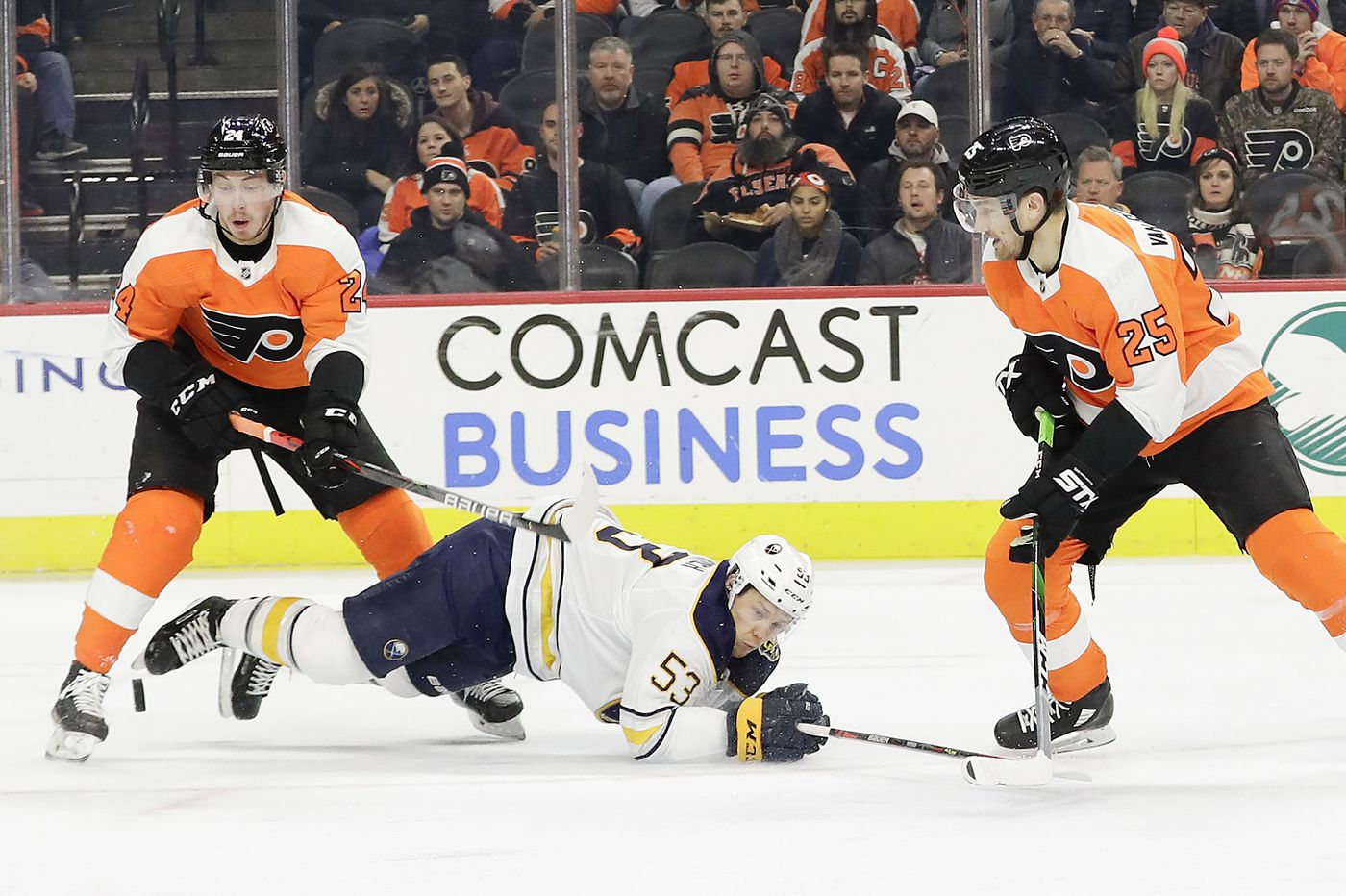 Travis Konecny is gritty, the NHL is dumb, and other observations from the Flyers' 6-1 win over the Sabres | Mike Sielski