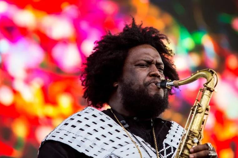 Saxophone player, composer and bandleader Kamasi Washington plays Union Transfer on Nov. 25.