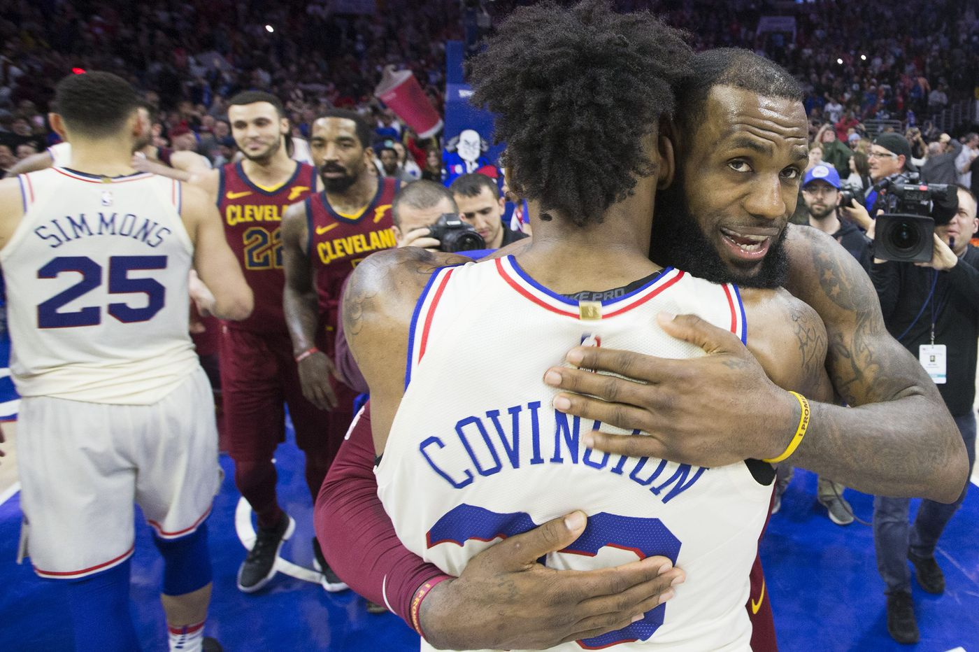 LeBron James' free agency inches closer. Could he land with the Sixers?