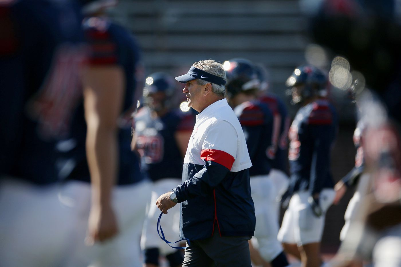 Penn football coach Ray Priore talks about no fall season, hope for spring | Mike Jensen