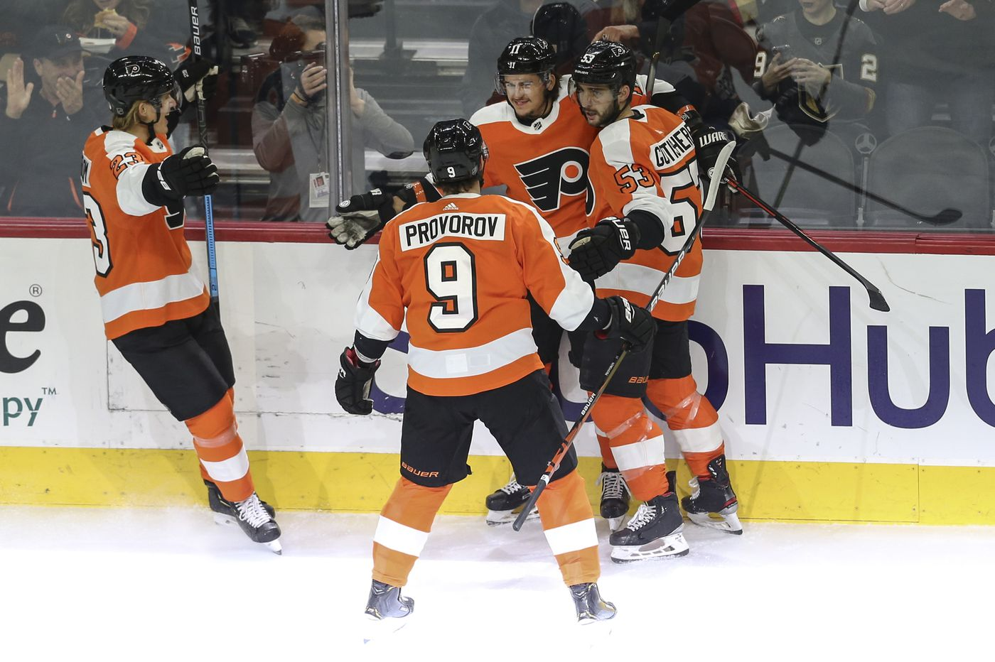 Alain Vigneault happy with Flyers' lines, except for Claude Giroux's unit. 'They have to figure it out.'