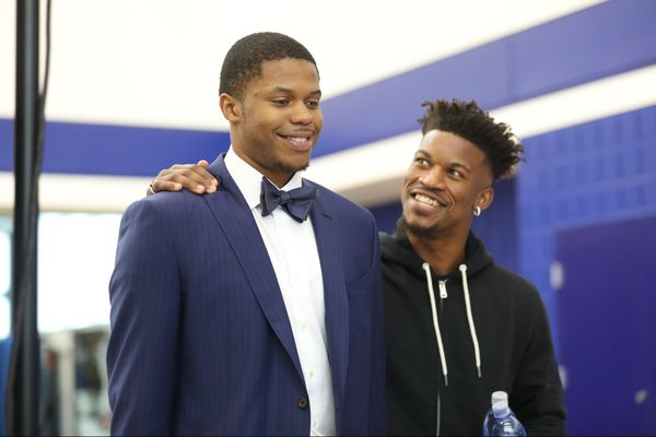 Jimmy Butler is from a different world. Maybe it's a place the Sixers need to be. | David Murphy
