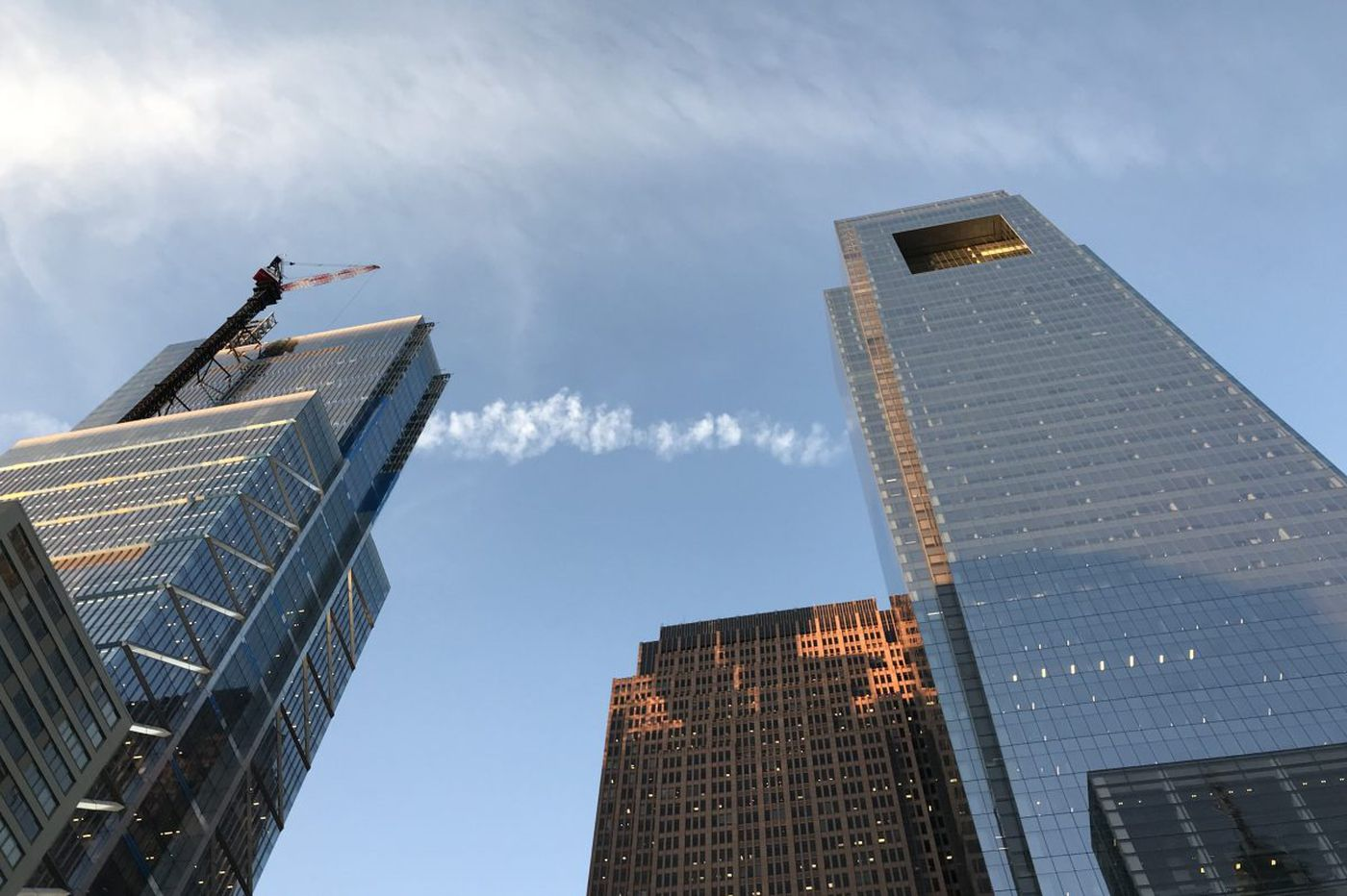 New Comcast Tower hit by cost overruns, construction manager warns