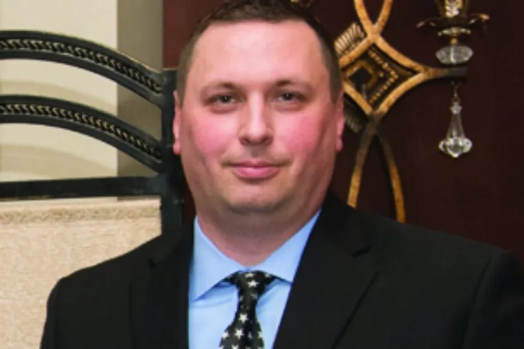 Sgt. Matthew Lowe of the 2nd Police District was one of 61 officers commended for bravery at a ceremony at the Fraternal Order of Police on May 22, 2019.