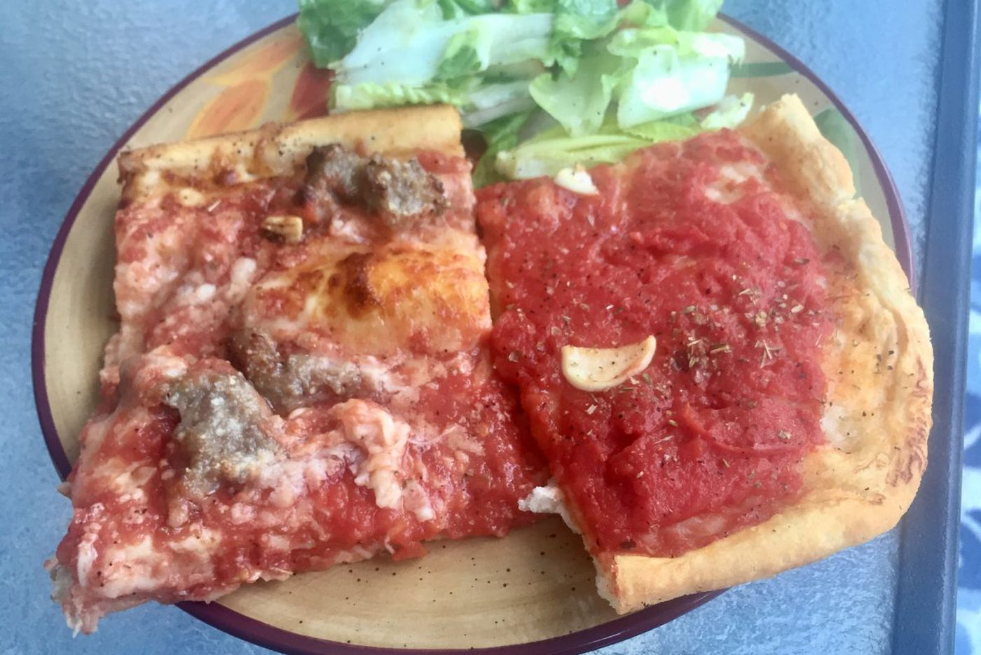 Old-school square pizza pops up at the Shore