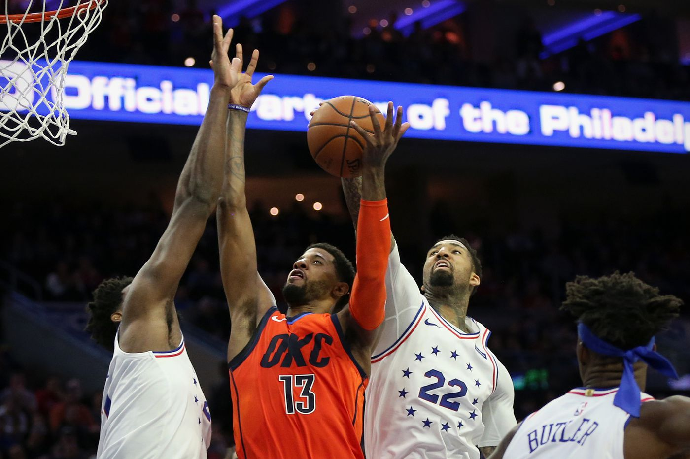 Paul George's Heroics Led The Thunder To A Thrilling Win In Philadelphia