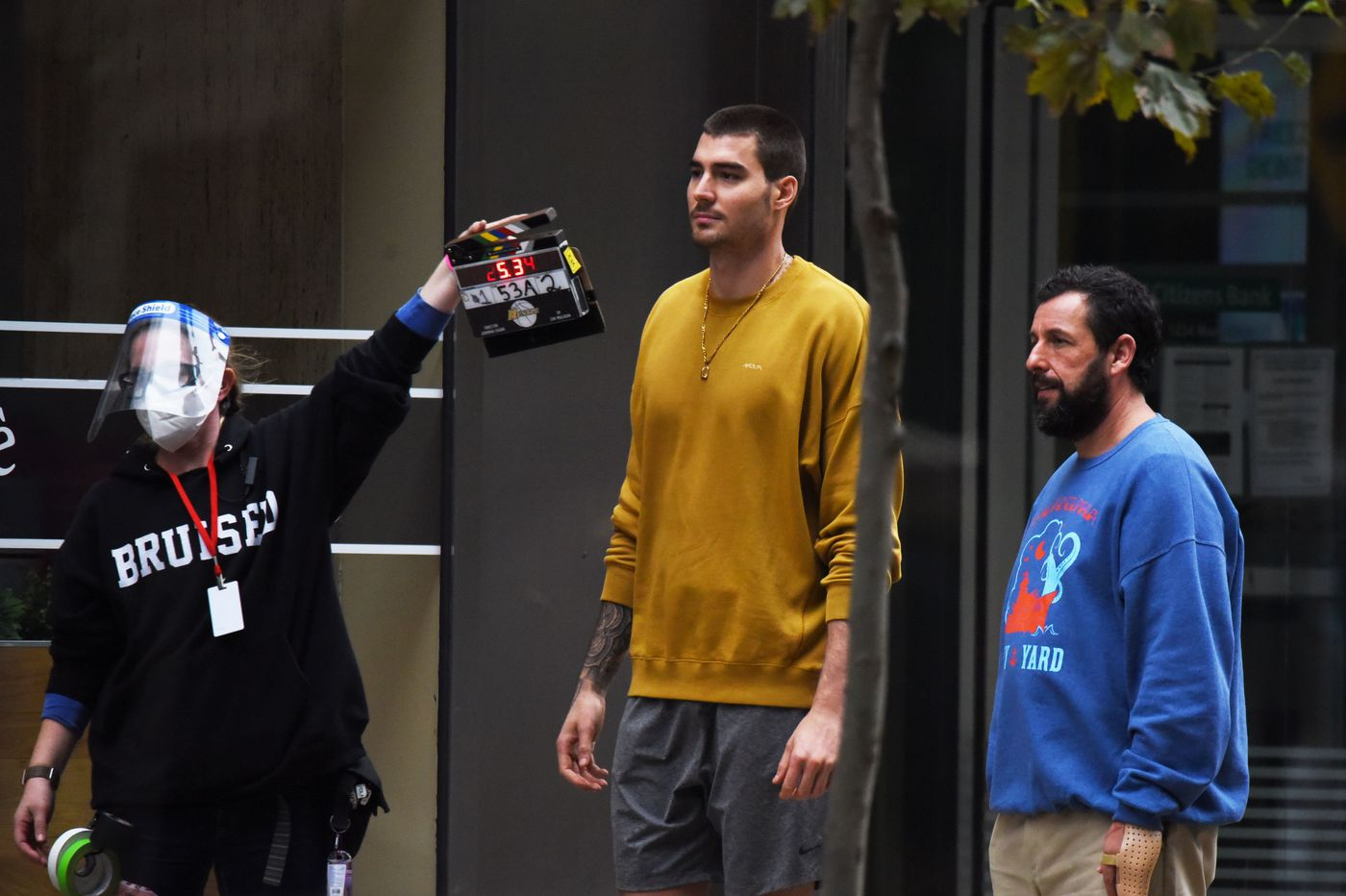 Here's where Adam Sandler is hanging out while he films a movie in Philly