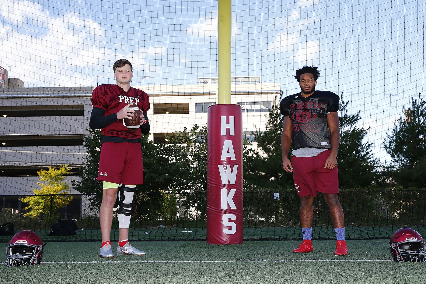 It's been a long road back for St. Joseph's Prep football stars Jeremiah Trotter Jr. and Kyle McCord