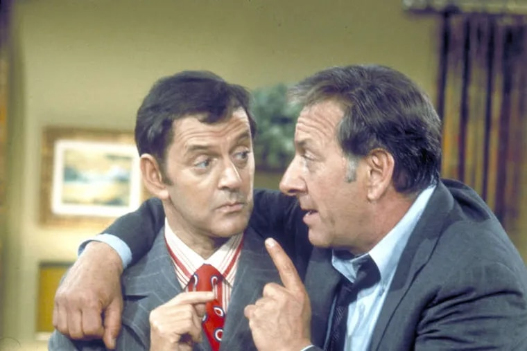 """FILE PHOTO Klugman's pairing with Tony Randall made """"Odd Couple"""" a hit."""