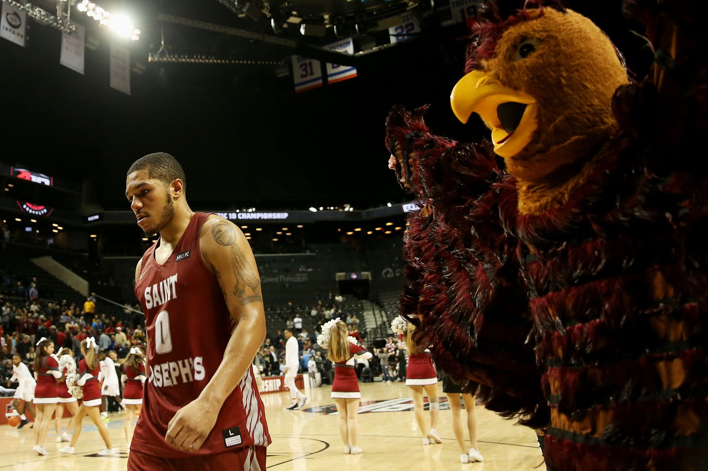St. Joseph's knocked out of Atlantic 10 Tournament by Davidson