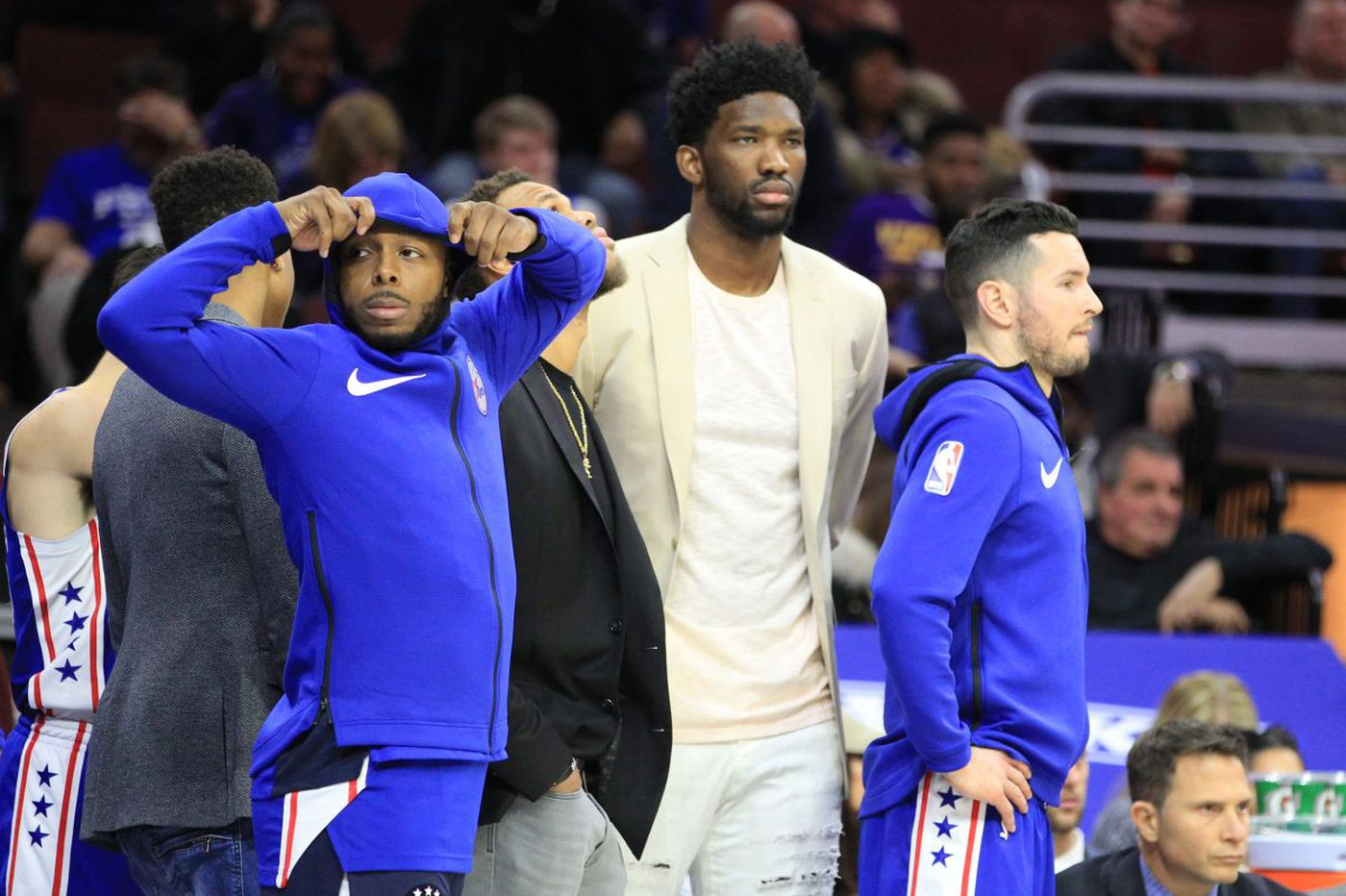 With Joel Embiid sidelined, the Sixers are a team in the midst of a reckoning | David Murphy