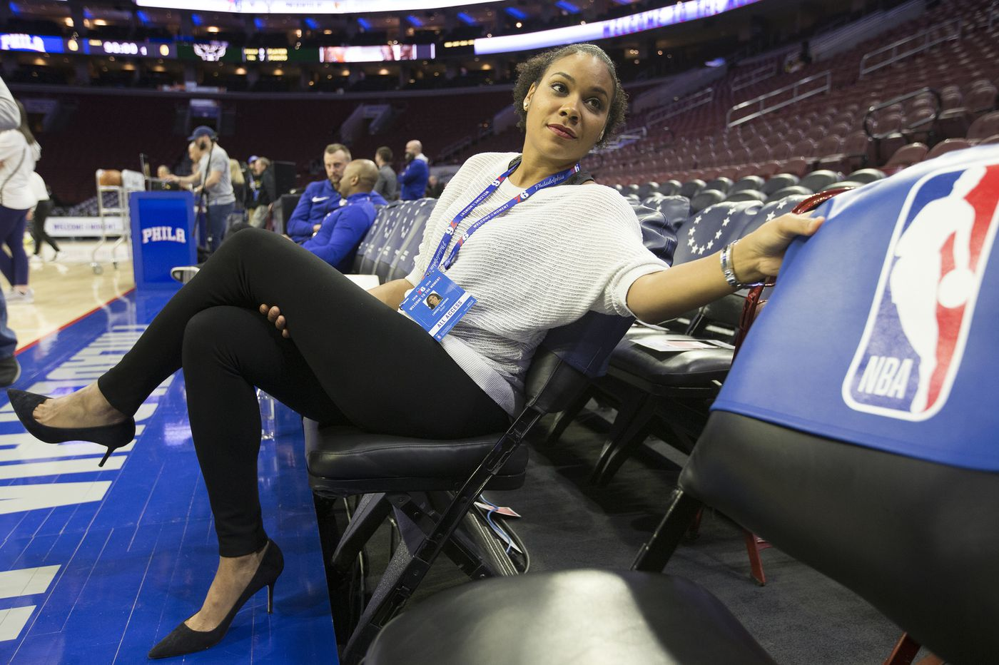 Lindsey Harding's historic rise from Sixers scout to coach is just the start: 'I think she's going to be a star'