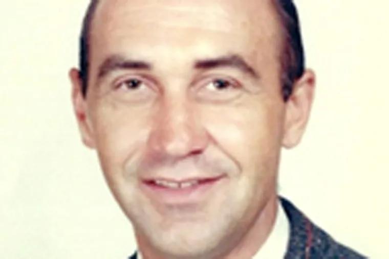 Retired Abington High School football coach Joe Shumock.