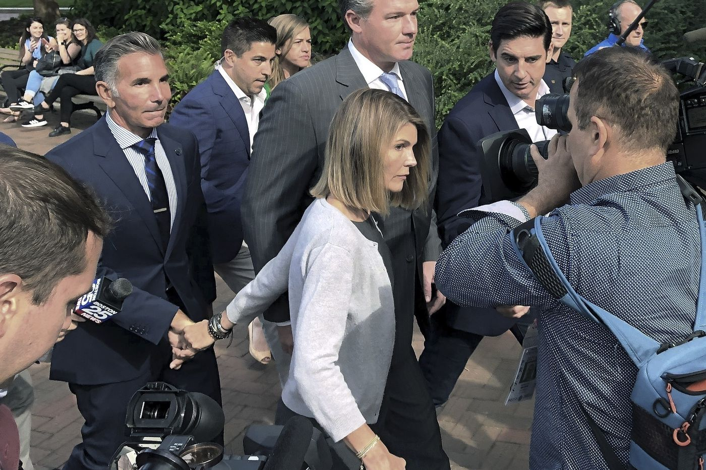 Lori Loughlin and Mossimo Giannulli plead guilty in college admissions scam, await fate