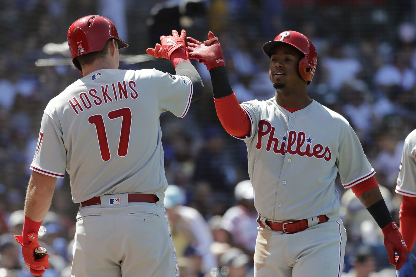 Phillies hang on for 9-7 win, series split against Cubs