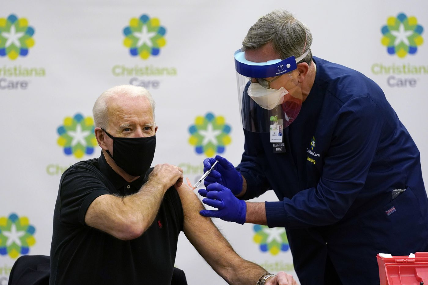 Biden gets his second vaccine dose as his team readies COVID-19 plan