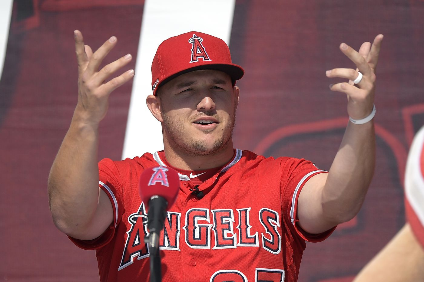 Mike Trout on leaving Angels: 'It never crossed my mind'