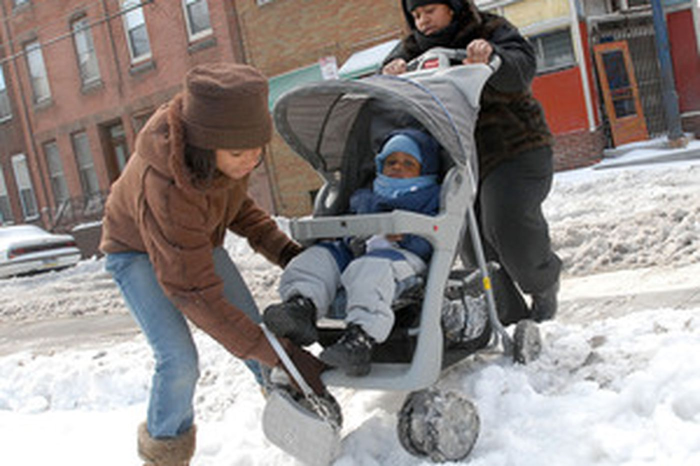 While plows waited, frustration piled up