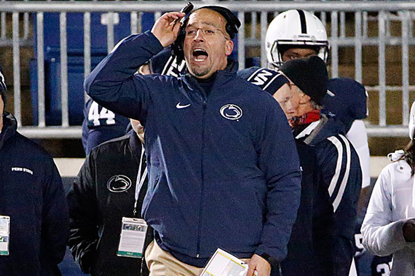 Franklin restoring pride as Penn State heads into Pinstripe Bowl