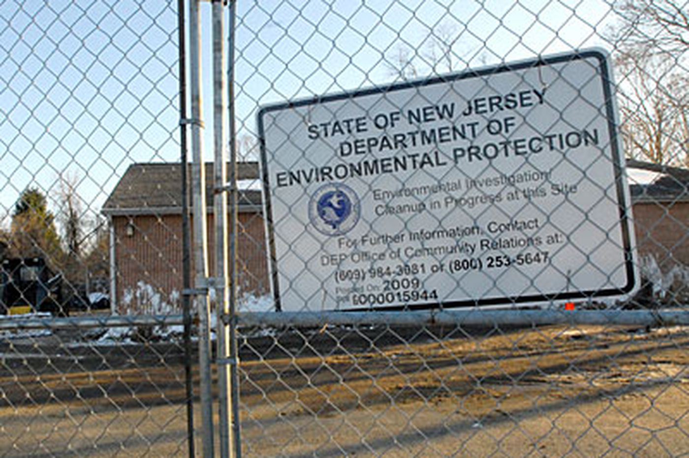 Contaminated day-care site being demolished