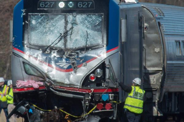 On Amtrak Train 89, a boom, smoke and 'I was scared that we were going to turn over'