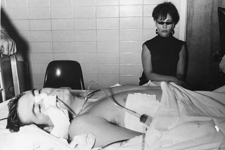 Thomas J. Gibbons Jr. in the emergency room on Aug. 30, 1970. He underwent multiple surgeries and spent months in the hospital recovering from his injuries.