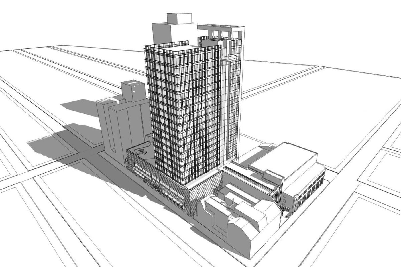 Boyd Theatre site apartment plan scaled back amid Philly rental-unit surge