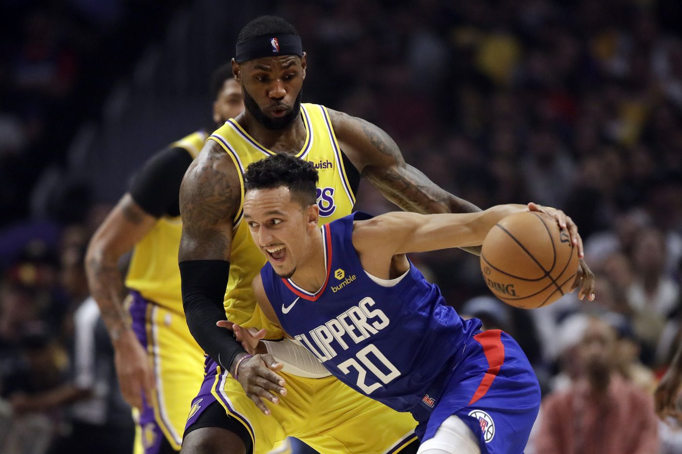 Former Sixers guard Landry Shamet, initially angry at being traded, has settled in with Los Angeles Clippers