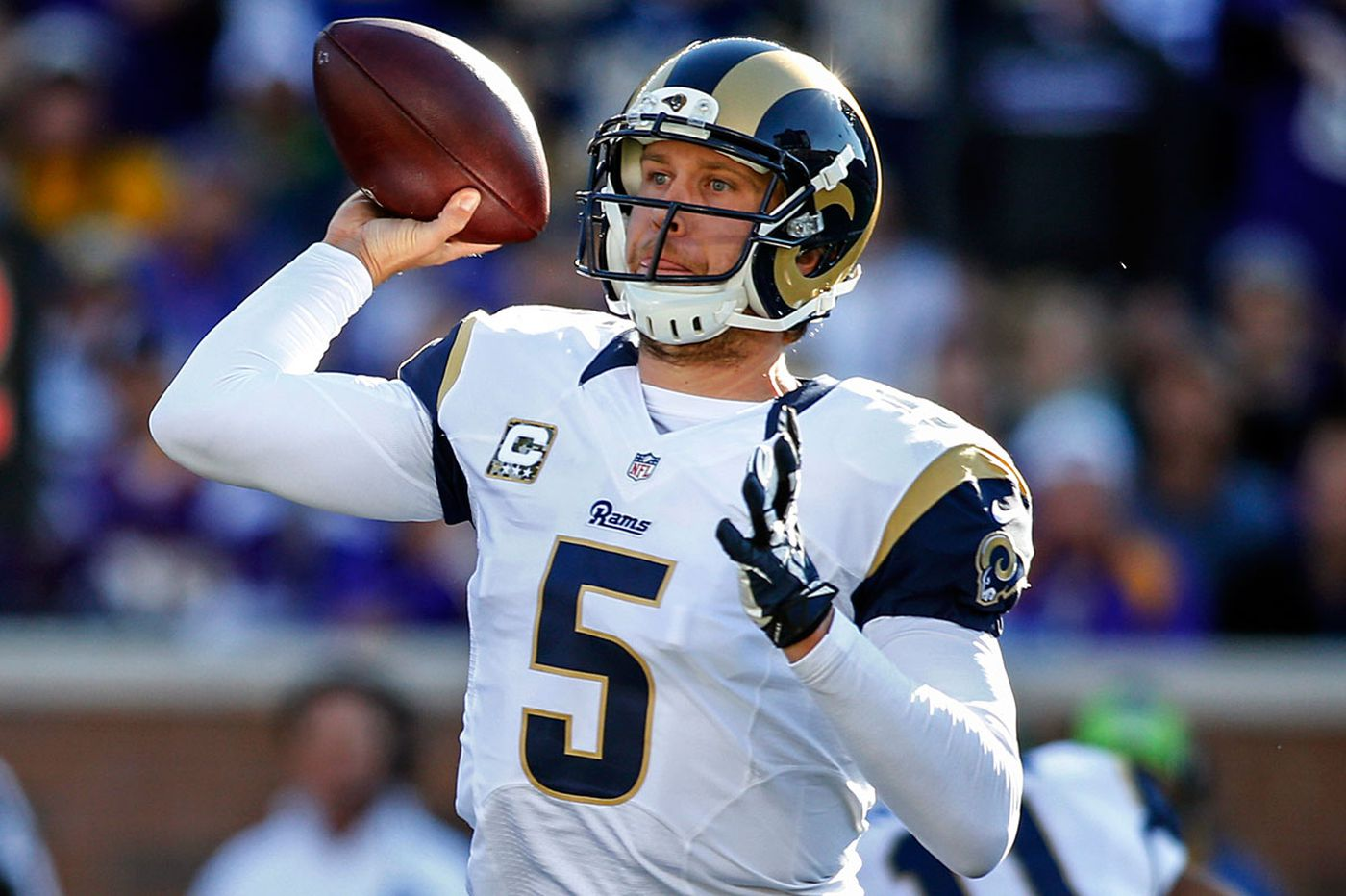 Nick Foles' one season with the Rams was anything but super