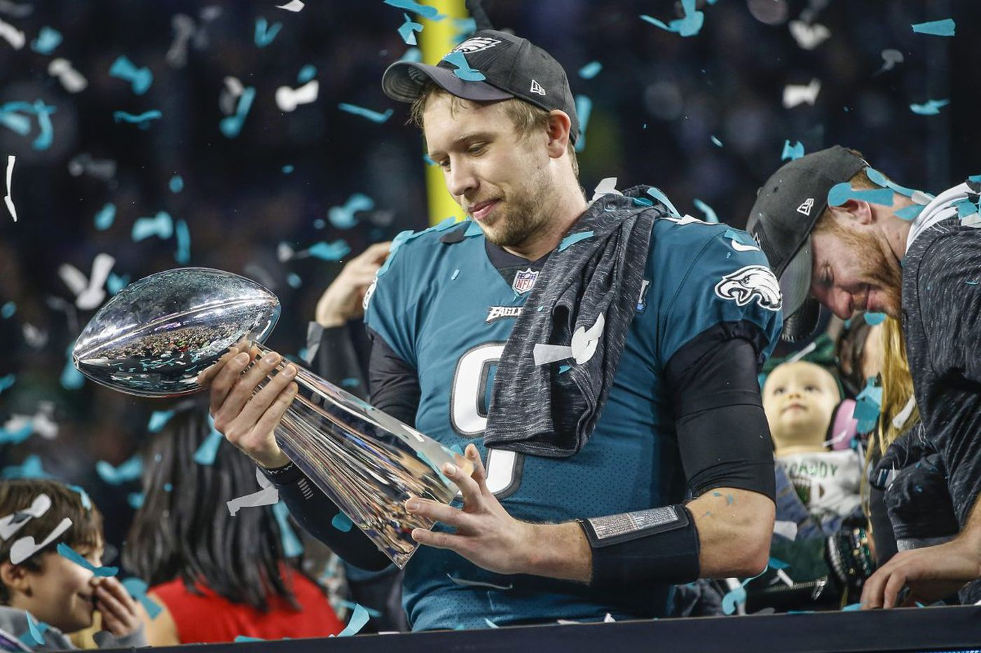 7f326efe Eagles don't use franchise tag on Nick Foles, officially part ways with Super  Bowl 52 MVP