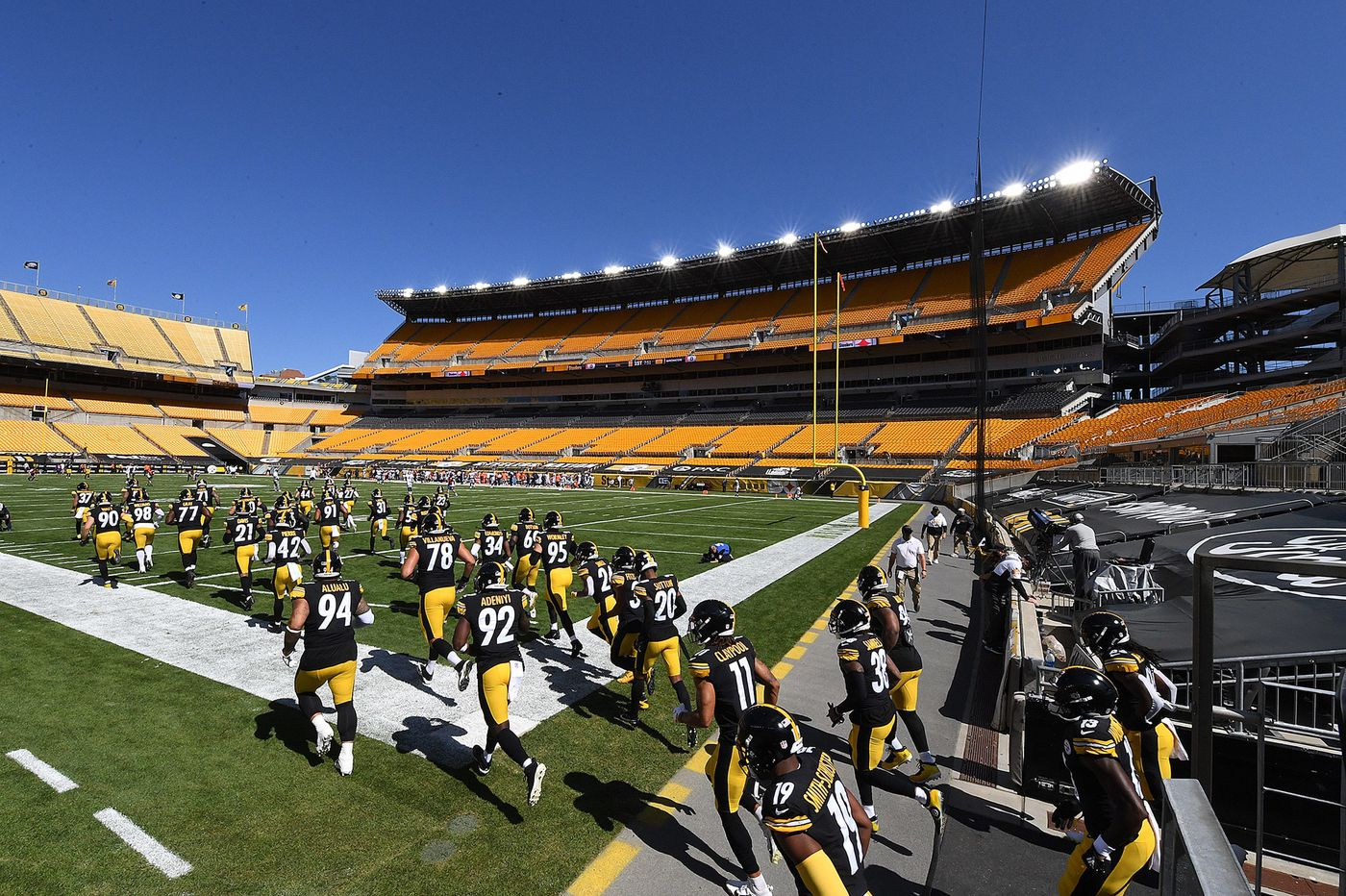Pennsylvania loosens coronavirus restrictions on crowds, allowing fans back into sports stadiums