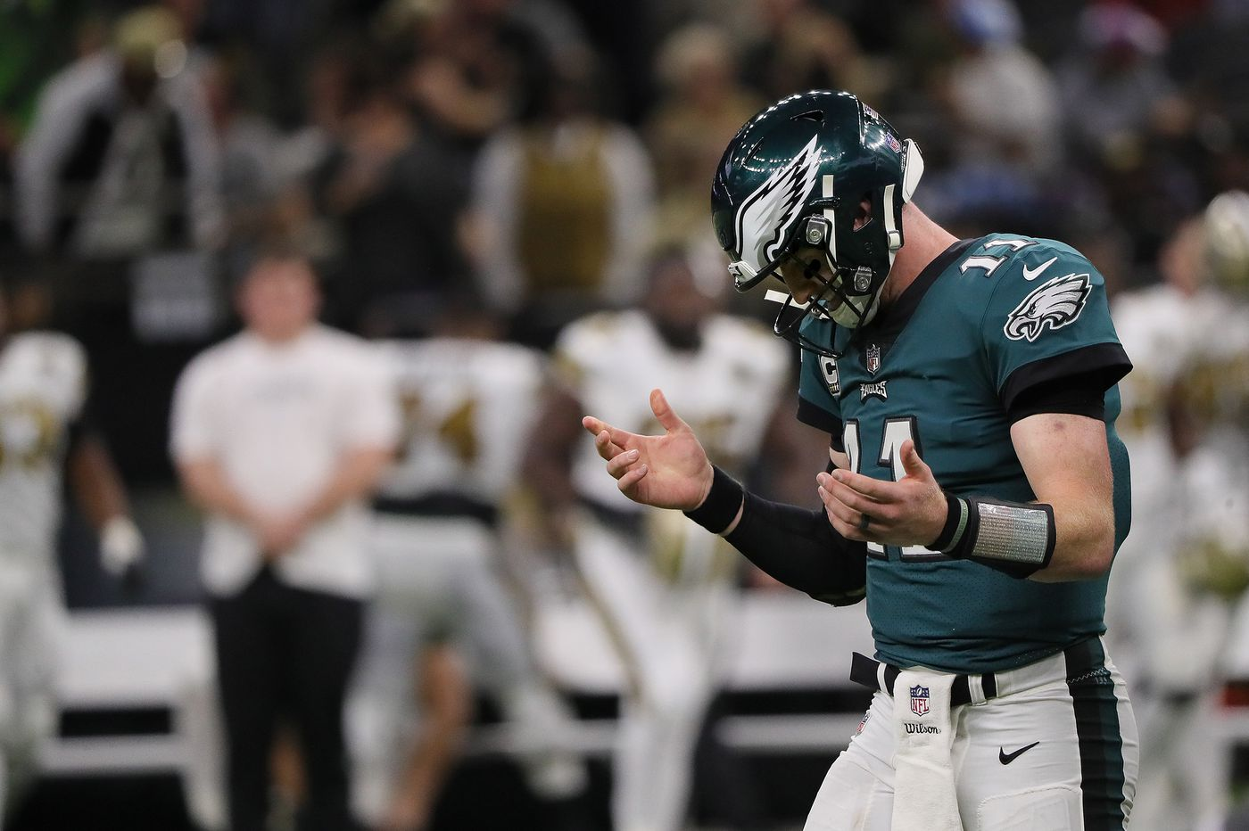 How will Eagles quarterback Carson Wentz rebound from the worst game of his career?