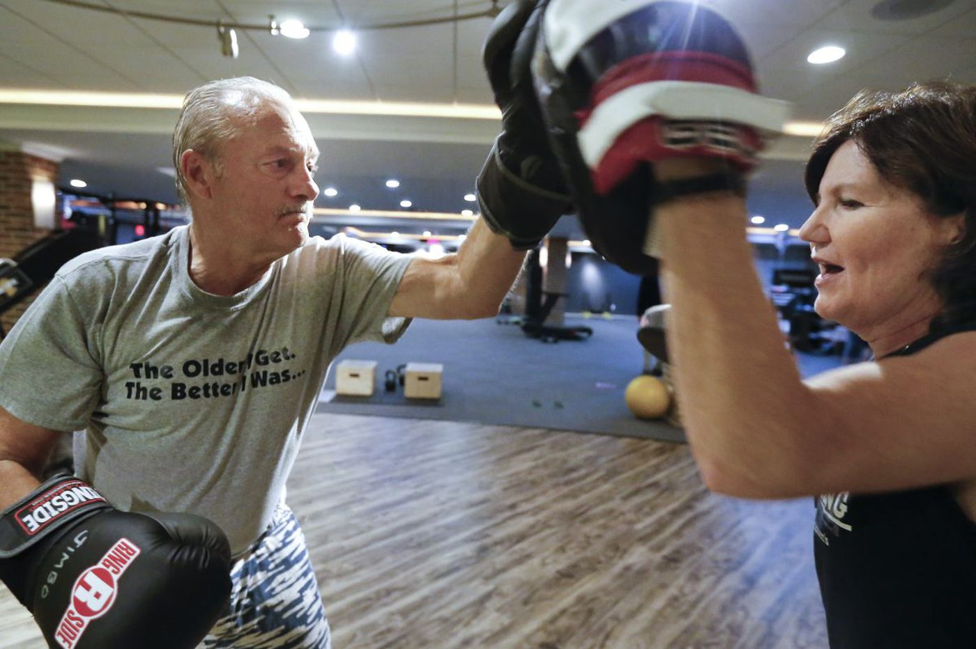 Punching hard at Parkinson's disease through boxing