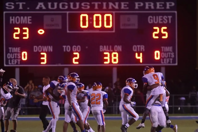Millville football players will look for another road victory to celebrate as the defending champion Thunderbolts visit Rancocas Valley in the S.J. 5 semifinals on Friday night.