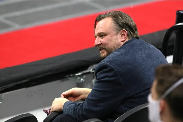 Daryl Morey traded most of his picks away during his tenure with the Houston Rockets.