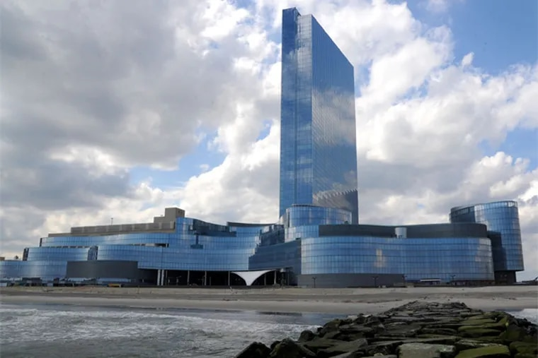 The Revel Casino on Friday, May 9, 2013. Revel awaits a bankruptcy judge's ruling on its Chapter 11 re-organization plan on Monday, May 13, 2013. ( CLEM MURRAY / Staff Photographer )