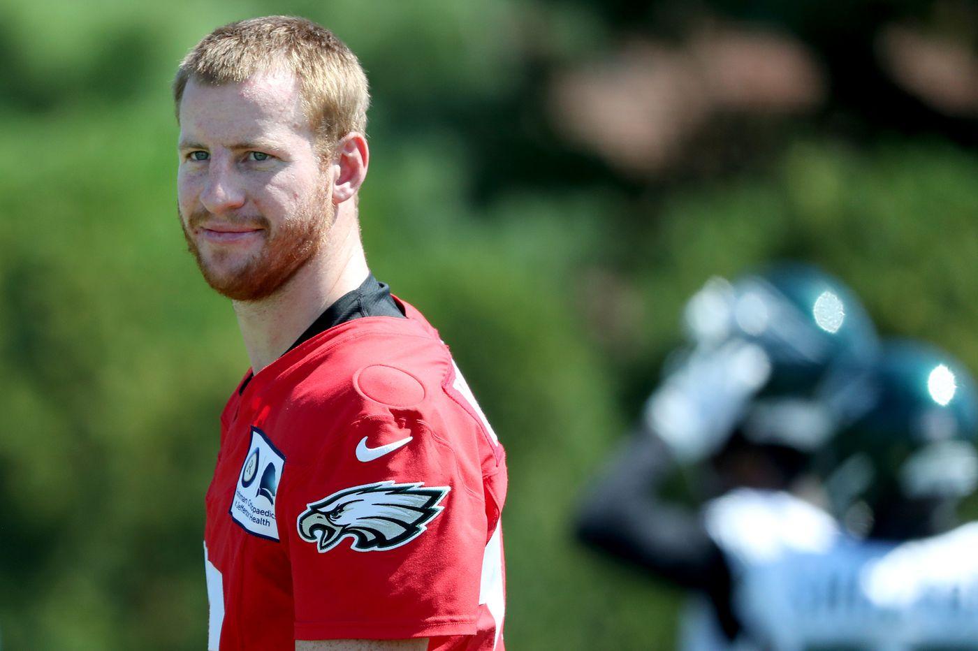 Not playing Eagles quarterback Carson Wentz in preseason is risky, too | Bob Ford