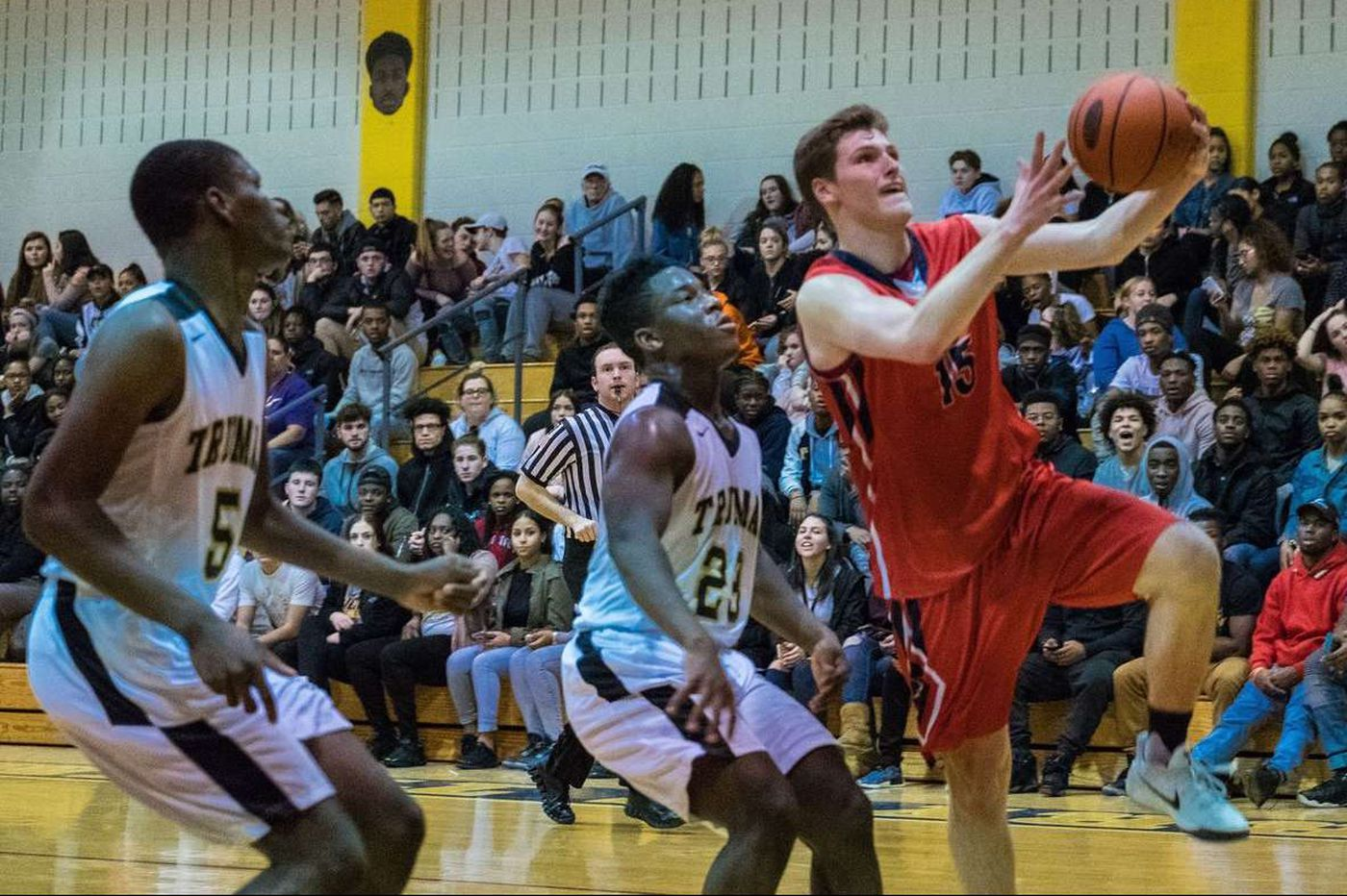 Chris Arcidiacono and Neshaminy making strides on hardwood