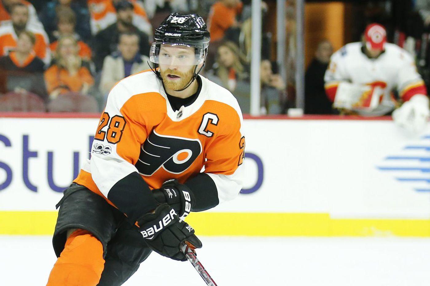 Claude Giroux, Morgan Frost, and Travis Konecny lead Flyers to 5-3 win in Carolina